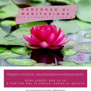 Percorso di Meditazione, Respiro, Visualizzazione e Rilassamento